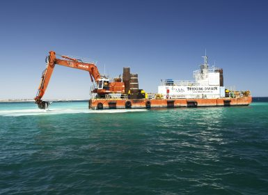 Marine Dredging Western Australia - TAMS Group