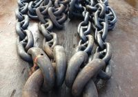 Anchors, chain and clump weights for hire