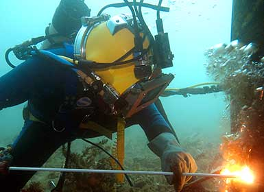 Commercial Diving Services Western Australia | TAMS Group