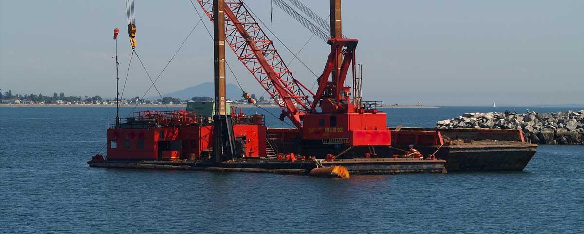 Marine Construction Equipment | TAMS Group - Marine Solutions & Port