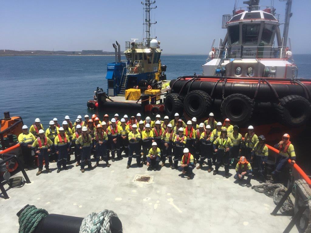 Harbour Tug Services Australia | TAMS Group - Marine